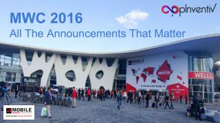 MWC 2016 - All The Announcements That Matter