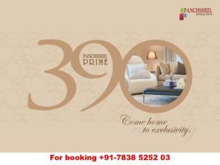 Panchsheel Prime 390 Ghaziabad - Download E-Brochure