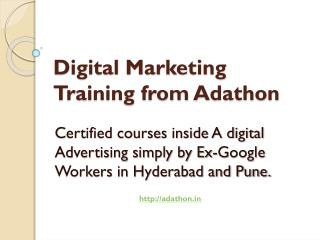 Digital Marketing Training Hyderabad