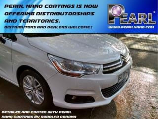 Pearl nano coatings is now offering distributorships and territories.