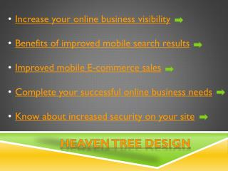 Business Needs at Heaven Tree Design