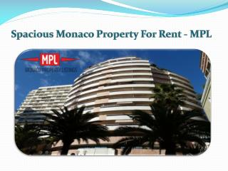 Spacious Apartments For Rent In Monaco