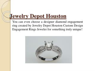 Buy An Engagement Ring In Houston From A Trustworthy Store