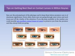 Tips on Getting Best Deal on Contact Lenses in Milton Keynes