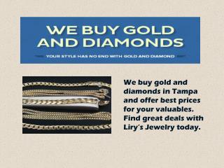 Buying Diamond Silver Gold