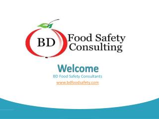 Elaboration of the concept of food safety