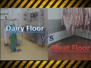 Dairy Floors Vs Meat Floors