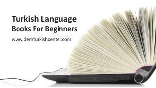 Turkish Language Books For Beginners