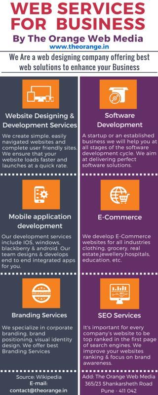 Web Designing in Pune - Orange Web Media