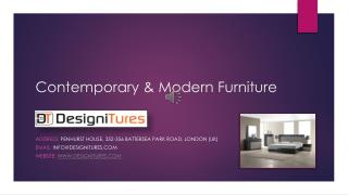 Contemporary & Modern Furniture by Designitures