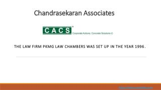 Compliance Consultants Financial Services in India  I CACS
