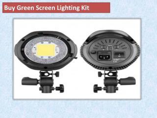 Buy Green Screen Lighting Kit