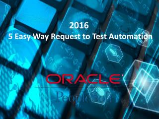 5 Easy Way Request to Test Automation