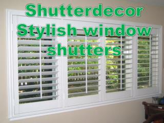 Shutterdecor Stylish window shutters