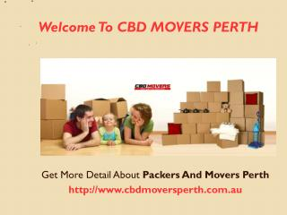 Best House Removals Perth in Western Australia