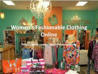 Best Contemporary Clothing Store Hilton Head Boutique