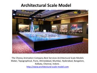 Architect scale model