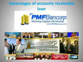 Advantages of accounts receivable loan
