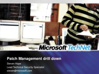 Patch Management drill down