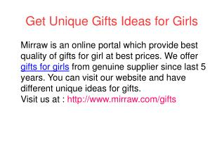 Best Creative Gifts for Girl