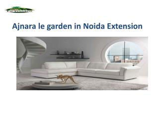 Ajnara le garden project in noida extension