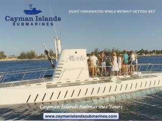 Submarine Ride is a Must Thing to do for Cruise Ship Guests in Cayman Islands