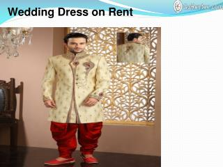 Wedding Dress on Rent