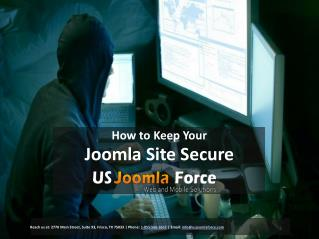 How to Keep Your Joomla Site Secure