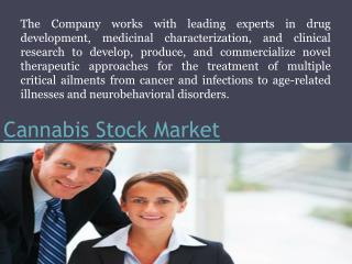 Cannabis Stock Market