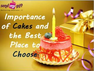 Best Place to choose Cakes Online