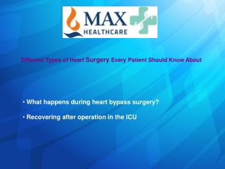 Different Types of Heart Surgery Every Patient Should Know About