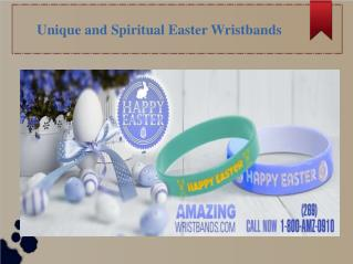 Unique and Spiritual Easter Wristbands