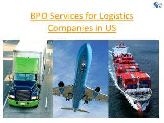 BPO Services for Logistics Companies in USA