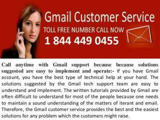 Gmail customer care service 1 844 449 0455  tollfree number for Gmail issues