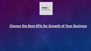 Choose the Best KPIs for Growth of Your Business