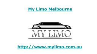 Limo Hire Melbourne - My Limo, Au
