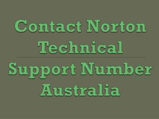 Norton Tech Support provide services independently