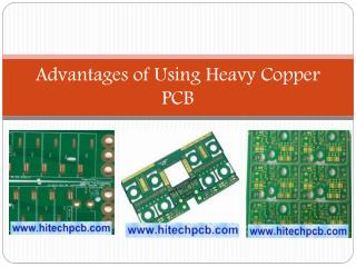 Advantages of Using Heavy Copper PCB