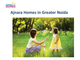 Ajnara Homes in Noida Extension