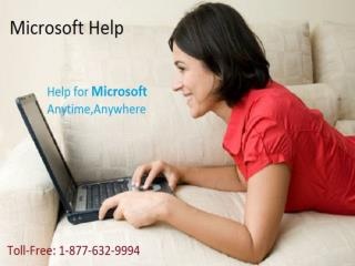 Ring on Microsoft Help Number 1-877-632-9994