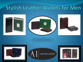 Stylish Leather Wallets for Men