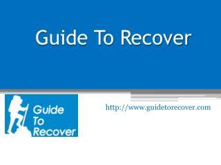 Drug Rehab in South Florida - www.guidetorecover.com