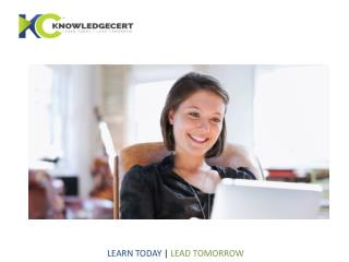 Knowledge Cert | PMP Certification ,PMP,PMPCertification Training Online,