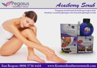 Acaiberry|Acaiberry Scrub Asli|Acaiberry Scrub Pelangsing Herbal 0896.3736.4418