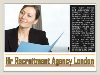 Hr Recruitment Agency