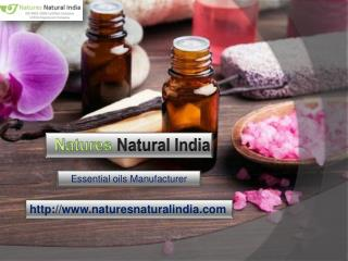 Buy Best quality of Essential Oils at Naturesnaturalindia.com