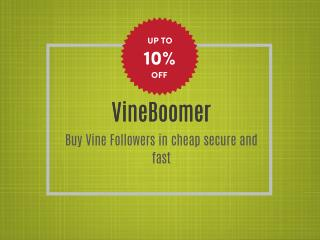 Buy Vine Followers