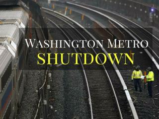 Washington Metro shutdown
