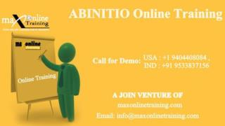 ABINITIO Online TRAINING  from maxonlinetraining