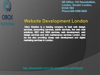Website Development London